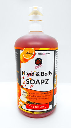 Liquid Hand & Body Soapz