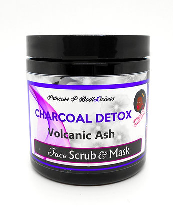 Volcanic Ash Face Scrub (10 oz)
