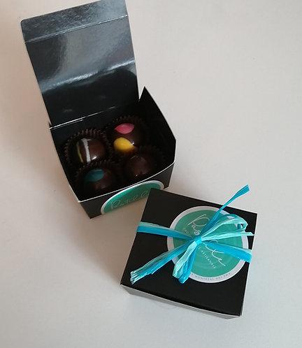 Boîte de 4 chocolats