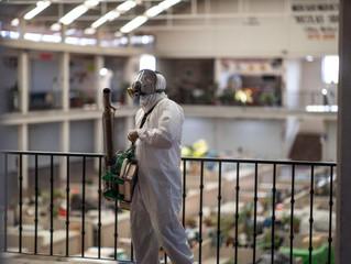 Sanitizan ayuntamientos espacios públicos ante COVID-19