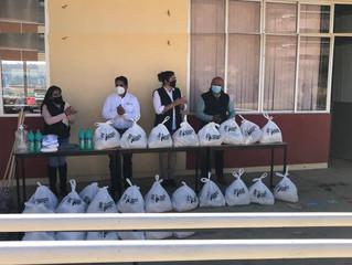 Ayuntamiento de Morelos hace entrega de Donación Alimentaria para la gente que lo Necesita
