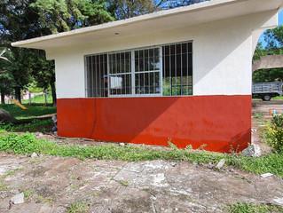 Ayuntamiento de Jiménez Continua con la Construcción del Comedor en la Primaria Elias Miranda