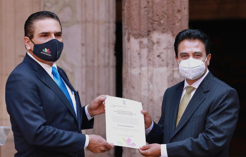 Designa Gobernador a Armando Hurtado como secretario de Gobierno