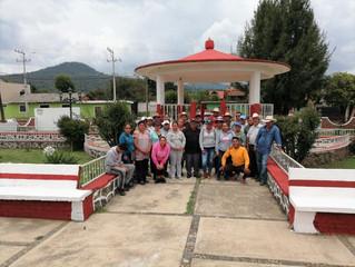 Ayuntamiento de Erongarícuaro llevo acabo programa Pinta Tu Comunidad en localidad de Zinciro