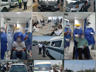 Refuerza acciones preventivas para romper cadena de contagios por COVID-19 en Lázaro Cárdenas