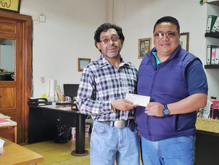 Ayuntamiento de Erongarícuaro entrego recurso para Premiación del Torneo de Fútbol
