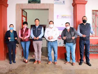 Inaugura Marco Aurelio Nava oficina de atención inmediata en Quiroga