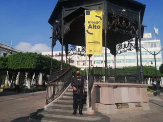 Con Bandera Amarilla, intensifica SSP labores de prevención contra COVID-19 en Sahuayo