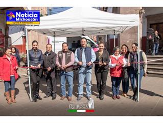 Visito El Ministerio Publico Itinerante el municipio de Quiroga