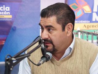 El Gobernador Silvano Aureoles tiene el apoyo de los militantes del PRD en Zacapu: Arturo Velázquez