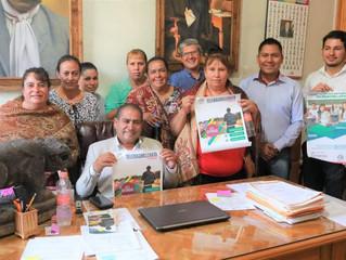 Se llego a acuerdo con padres de familia para la construcción de aulas en Telebachillerato de la Cañ