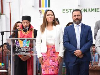 Conmemoran el CCLIV natalicio de José María Morelos y Pavón en Zacapu