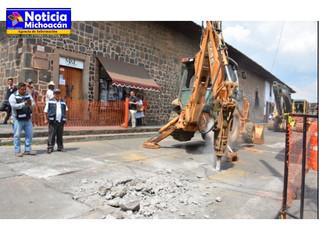 Más de 50 mil habitantes, los beneficiados con la rehabilitación de las calles Benito Mendoza y Prim