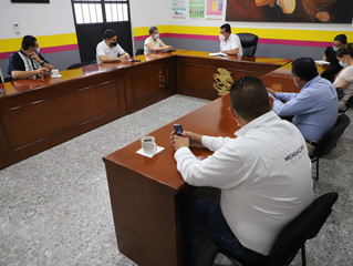 Fortalecen acciones preventivas contra COVID-19 en Huetamo