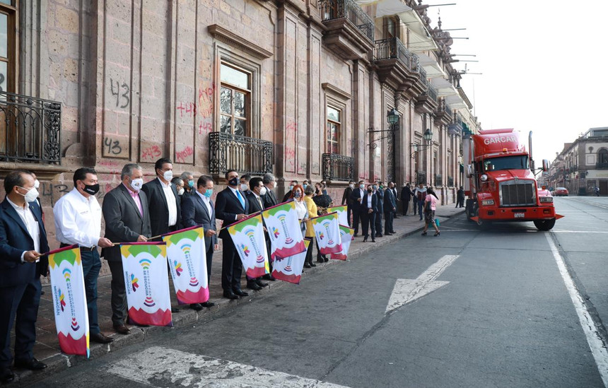 Envía Michoacán ayuda humanitaria para damnificados de Tabasco