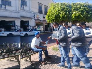 Ayuntamiento de Puruándiro le Sigue recordando a los Ciudadanos el uso Obligatorio del cubrebocas