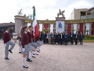 Acto cívico por 471 años Aniversario de Zacapu
