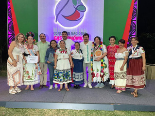 Con mole purépecha, estudiantes del Icatmi ganan segundo lugar en concurso nacional de Gastronomía