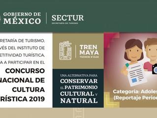 Ayuntamiento de Coeneo invita al Concurso Nacional de Cultura Turística