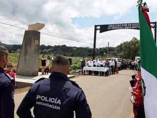 Acto Cívico en homenaje a Don Miguel Hidalgo en Jiménez