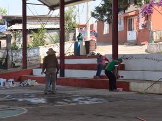 Erongarícuaro inicia segunda etapa del programa Pinta tu Comunidad