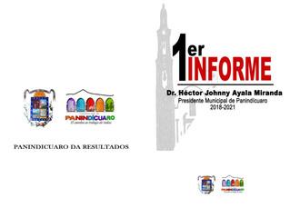 El Alcalde Héctor Johnny Ayala Miranda dará el Primer Informe de Gobierno