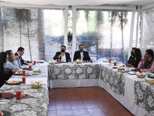 Diputados reciben a alcaldes para generar estrategias en favor de la ciudadanía
