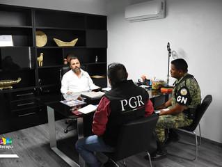 Edil Luis Felipe se reunió con integrantes de la Guardia Nacional para fortalecer la seguridad