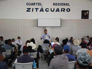 Diálogo, la mejor opción para encontrar soluciones: Silvano Aureoles