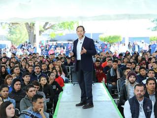 A emprender sin temor a triunfar, invita Gobierno estatal a jóvenes de Zamora