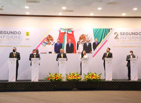 El GPPRD rinde su Segundo Informe de Labores y refrenda su compromiso con Michoacán