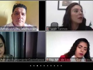 Toño Madriz participa en el Tercer Encuentro Nacional de Diputados Locales por la Movilidad 4 S