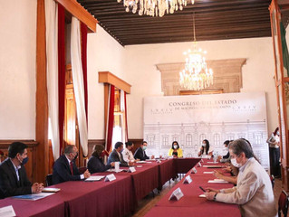 Se reúnen Legislativo, autoridades e Iniciativa Privada para trabajar en la recuperación económica d