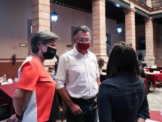 GPMORENA será vigilante en desempeño de nuevos nombramientos públicos para Michoacán