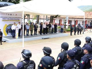 Michoacán cumplirá con estado de fuerza policial: Gobernador