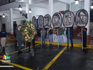 Se llevo a cabo la Velada Luctuosa en Honor a los Niños Héroes en Zacapu