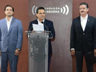 Incansable, trabajo coordinado para consolidar un Michoacán sustentable: Gobernador