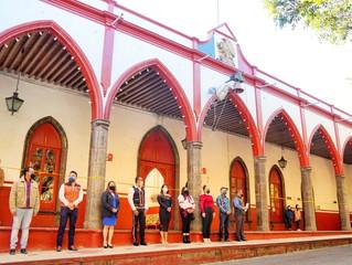 Ayuntamiento de Purépero Llevo a cabo Acto cívico por los 110 años de la Revolución Mexicana