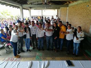 Habitantes de Quiroga ya decidieron, votarán por José Luis Vega a la diputación local