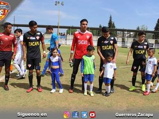 En partido de la Jornada 35 de la TDP Guerreros Zacapu pierde el día de ayer 1-0 ante el equipo de R