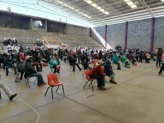 Ayuntamiento de Morelos hace entrega del programa 68 y mas en el Municipio