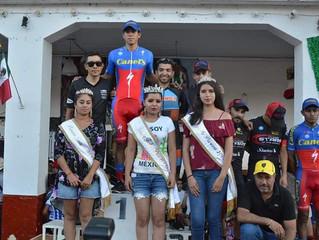 Se llevó con éxito la tradicional carrera ciclista Circuito Independencia en Jiménez