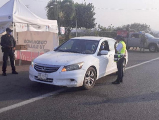 Intensifica SSP acciones para frenar COVID-19 en Lázaro Cárdenas