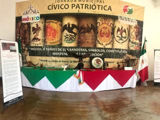 Se llevará a cabo la exhibición de Bandera y Símbolos Patrios en el municipio de Panindícuaro