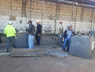 Ayuntamiento de Puruándiro realiza Reparación de Contenedores de Basura