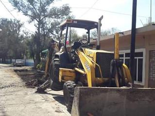 Arrancó obra de pavimentación en la comunidad de Zipimeo