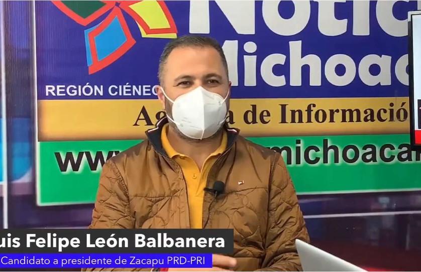 La gente respalda la continuidad del proyecto de Luis Felipe León