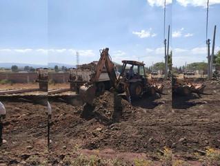 Ayuntamiento de Puruándiro Continua con la Pavimentación de Concreto Hidráulico