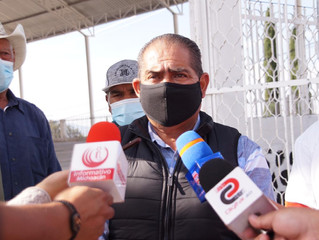 Obras de rehabilitación concluirán en un mes aproximadamente: Ariel Trujillo Córdova