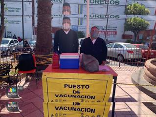 DIF Zacapu Llevo a cabo jornada de aplicación de vacuna contra la Influenza